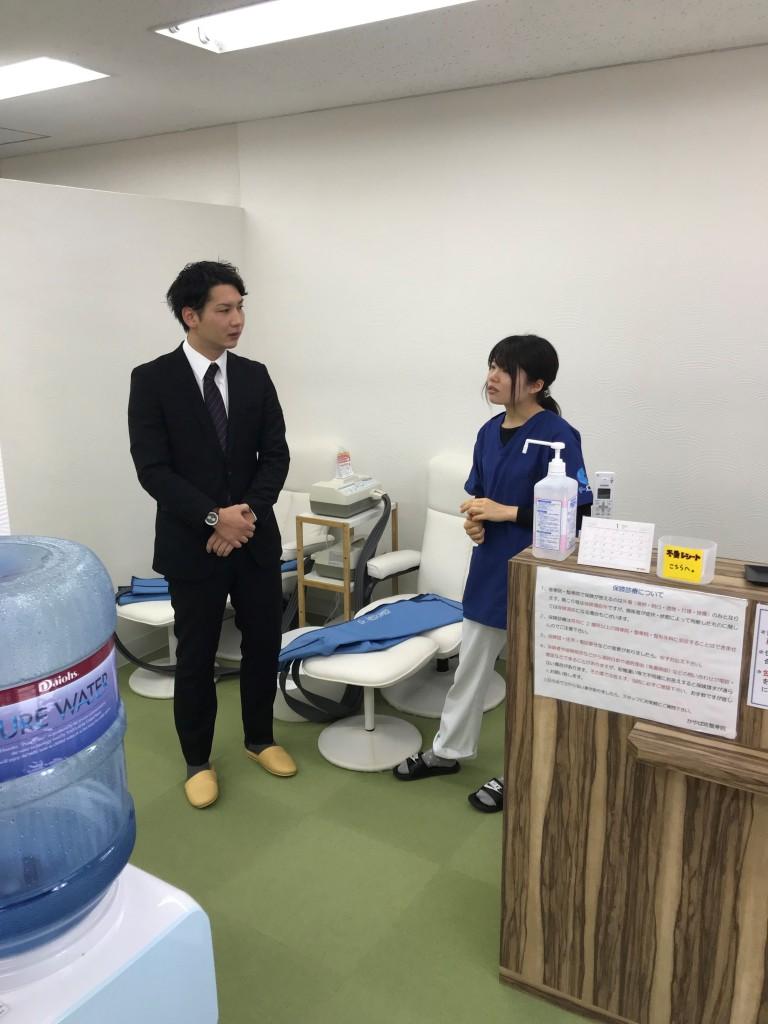 本日は日本工学院八王子専門学校様の鍼灸科就職説明会に参加させて頂きました!